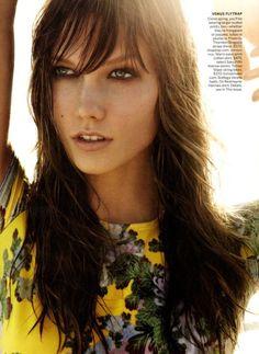 Karlie Kloss for Vogue US December 2011 by Mario Testino
