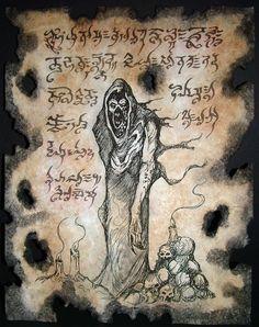 EL LICH cthulhu larp necronomicon magia oculto horror por zarono