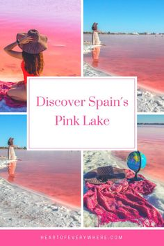 Torrevieja Pink Lake: Discover Spain Pink Lake - Heart of Everywhere