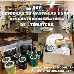 Hoy entre las 13:00 y 15:00 ven a degustar de forma gratuita nuestro #TéMatcha en @despensamodular  Av. Vitacura 4607 local 27 (al lado del Unimarc). Te esperamos! #Matcha #MatchaChile #Degustación #Chile #Santiago