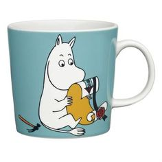 Enjoy a nice cup of coffee in Moomin's mug from Arabia! Moomin is one of Tove Jansson's characters from the Moomin valley and there are many Moomin mugs that are nice to combine with the others. Which one is your favourite?Se all of our Moomin products here Moomin .