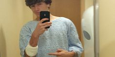 High School Stabbing Victim Goes To Hosptial, But First, Let Him Take A Selfie (Photo)