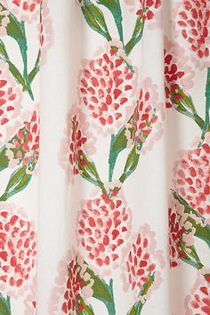 Speckled Blooms Curtain
