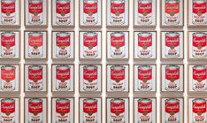 Toronto is getting a major exhibition for artist Andy Warhol Robert Rauschenberg, Jasper Johns, Moma Artwork, Sopa Campbell, Tomato Rice Soup, Untitled Film Stills, Warhol Paintings, Design Your Own Car, Campbell's Soup Cans