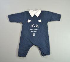 Combinaison coton molletonné bleu marine Sucre d'Orge 3 mois garçons in Bébé, puériculture, Vêtements, accessoires, Vêtements garçons (0-24mois) | eBay
