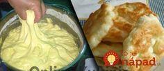 Výborné langoše, ktoré sa nedajú prirovnať k ničomu – sú jednoducho dokonalé! Bosnian Recipes, Croatian Recipes, Baking Recipes, Dessert Recipes, Bread Dough Recipe, Great Recipes, Favorite Recipes, Kolaci I Torte, Good Food