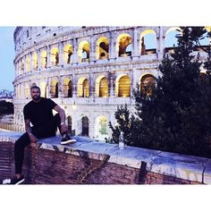 """Felt like a Gladiator next to the Coliseum"" - Tyson Chandler vacationing in Rome"