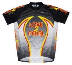 LOVE2PEDAL Team Cycling Jersey Men's Shortsleeve by Suarez -Special Sale Price-