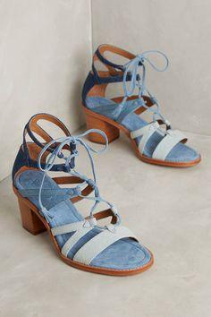 Frye Brielle Gladiator Heels