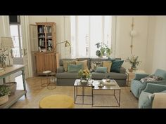 Las medidas de un salón perfecto - YouTube Zara Home, Sofa Gris, Home Tv, Room Ideas, Dining Table, Living Room, Videos, Youtube, Furniture