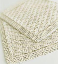 Billedresultat for babytæpper Baby Knitting Patterns, Free Knitting, Crochet Patterns, Knitted Washcloths, Knit Dishcloth, Knitted Fabric, Knit Crochet, Drops Design, Free Pattern