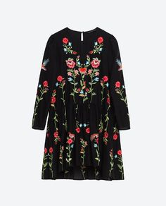 EMBROIDERED DRESS from Zara