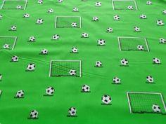 FUßBALL STOFF - 1026 individuelle Produkte aus der Kategorie: Material | DaWanda