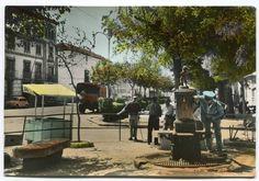 https://flic.kr/p/GupQRd | Ocaña (Toledo): fuente y paseo | Título: Ocaña (Toledo): fuente y paseo Publicación: Alcázar de San Juan(Ciudad Real) : Ediciones Mata, [1965]  Descripción física:1 fot. : b/n, coloreada. ; 10x15 cm. Notas: Número de serie: 3. Signatura: POS 4437
