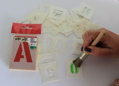 In need of stencils? Look no further, at www.directa.co.uk we supply a wide variety of stencils for you to choose from visit our website today!