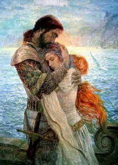 Resultado de imagen de diosas celtas del amor