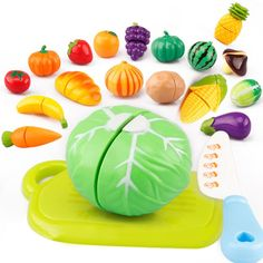 5a20e6c5fdea9 OCDAY Kids Kitchen Toys Cutting Fruit Vegetable Early Development and Education  Toys for Baby Pretend Pretend Play Toy 29Pcs Set-in Kitchen Toys from Toys  ...