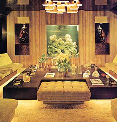 This is one of the most awesome 70's rooms I've ever seen. I should be in there, eating shrimp paste and drinking sake.