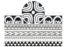 29 Best Maori Armband Tattoo Stencils Images In 2017 Polynesian