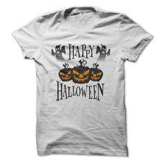 Happy Halloween T-Shirts, Hoodies. CHECK PRICE ==► https://www.sunfrog.com/Zombies/Happy-Halloween-2015-68144484-Guys.html?id=41382