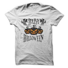 Happy Halloween T-Shirts, Hoodies. CHECK PRICE ==► https://www.sunfrog.com/Zombies/Happy-Halloween-2015-68144484-Guys.html?id=41382
