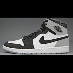 2fa03d5bbec6 Grey White and Black AJ1s brand new in box!! Size 6Y AJ1s come in