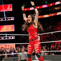 Nikki isn't the only Bella to enter the first-ever Women's Royal Rumble Match, as Brie enters after her sister! Womens Royal Rumble, Wwe Royal Rumble, Brie Bella Wwe, Nikki And Brie Bella, All Wwe Divas, Total Divas, Bella Sisters, Wwe Birthday, Wwe Wallpaper