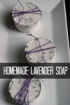 These lavender soap bars smell nice and make a practical homemade gift that everyone could use. You could give them alone or as part of a spa gift basket. Get the instructions at Life as for adults diy homemade gifts Homemade Lavender Soap Bars Diy 2019, Soap Tutorial, Homemade Soap Recipes, Lavender Soap, Lavender Crafts, Lavender Recipes, Lavender Ideas, Homemade Christmas Gifts, Simple Christmas Gifts