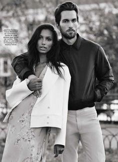 Жасмин Тукс и Тобиас Соренсен в Glamour Spain (Интернет-журнал ETODAY)