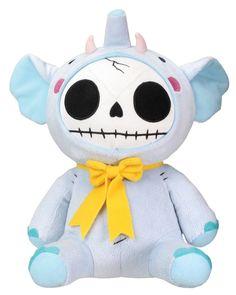 Elefun Elephant Furry Bones Soft Plush Doll ** Additional info  : Christmas Decorations