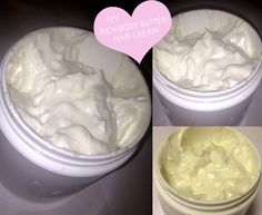 DIY Rich Whipped Body Lotion/Hair Cream