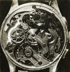 UWECO (Universal) Watch Mechanical Works, 1940 by Jean Prével