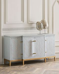 Shop Calista Sideboard at Horchow, where you'll find new lower shipping on hundreds of home furnishings and gifts. Credenza Decor, Dining Room Sideboard, Modern Sideboard, Sideboard Buffet, Mirrored Sideboard, Console Tables, Unique Furniture, Furniture Decor, Furniture Design
