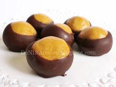 Buckeyes ~ Peanut Butter Balls | DeNIKAtessen - Recetas de Cocina