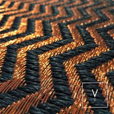 [ Simply Briliant ] Our Ms weave in black fibers and copper threads is a fierce combination that will never pass unnoticed. Care to cover your floors with a handwoven brilliant piece like this. #VerdiDesign #WeavingIntoNature #Metal #Rugs #Copper #Handmade #MadeInColombia #Handcrafted #Metallic #Carpet #Textiles #Weaves #Bespoke #BespokeRug #Design #Interior #InteriorDesign #Art #Architecture #InteriorArchitecture #Colombia