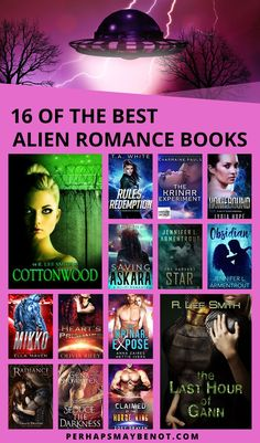 Go on an epic adventure with these alien romance books...they're out of this world #aliens #alienromance #bookstoread #bestbooks #booksworthreading #romancebooks