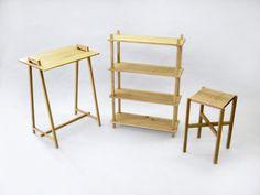 Breakdown furniture series by Louie Rigano