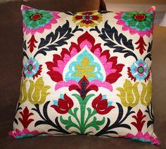Custom Pillow Cover Waverly Desert Flower