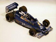 F1 Paper Model - 1977 GP USA Hesketh 308E Paper Car Free Template Download