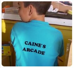 Caine's Arcade STAFF Shirt