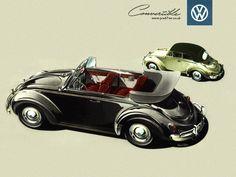 vintage volkswagen wallpaper, beetle wallpaper, desktop pictures