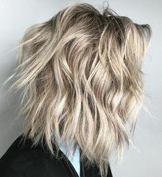 Layered Thick Hair, Thick Hair Styles Medium, Medium Hair Cuts, Curly Hair Styles, Shoulder Length Layered, Shoulder Length Hair, Medium Length Cuts, Haircuts For Medium Length, Mid Length