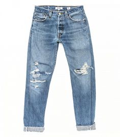Re/Done Relaxed Straight Jeans