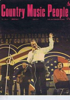 Bocephus on the cover of Country Music People Magazine on June of 1971