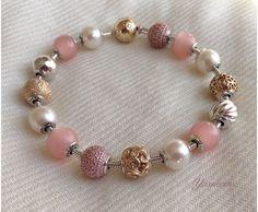 Tri-tone Essence. Pandora Bracelets, Pandora Jewelry, Beaded Bracelets, Pandora Story, Pandora Essence Collection, Troll Beads, Pandoras Box, Memorable Gifts, Bracelet Designs