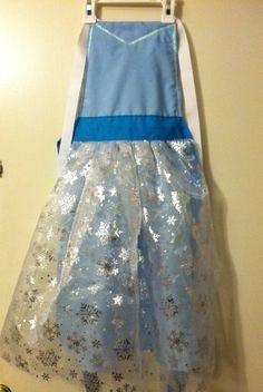 Disney Frozen Princess Elsa Inspired Dress by LeighMarieBoutique