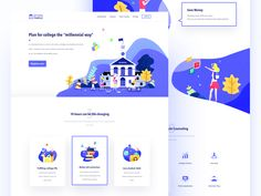 Offers Temple designed by Darren W. the global community for designers and creative professionals. Design Web, Design Sites, Homepage Design, Brand Design, Landing Page Inspiration, Ui Design Inspiration, Daily Inspiration, Mobiles Webdesign, Webdesign Layouts