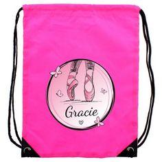 Personalised Pink Kit Bag - Ballet