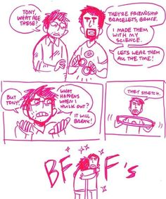 Tony Stark & Bruce Banner: Science Bros BWUUUUUUUCE TONAY NEEDS U