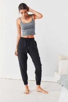 92c98a73693 Out From Under Piper Woven Jogger Pant